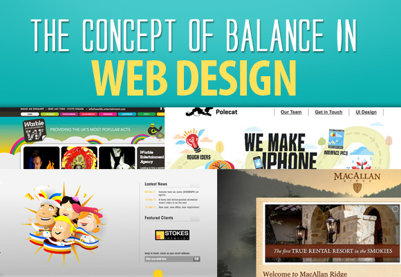 The Concept of Balance in Web Design