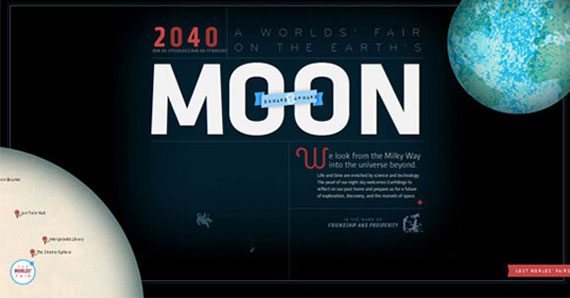 The Moon in 2040