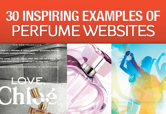 30 Inspiring Examples of Perfume Websites