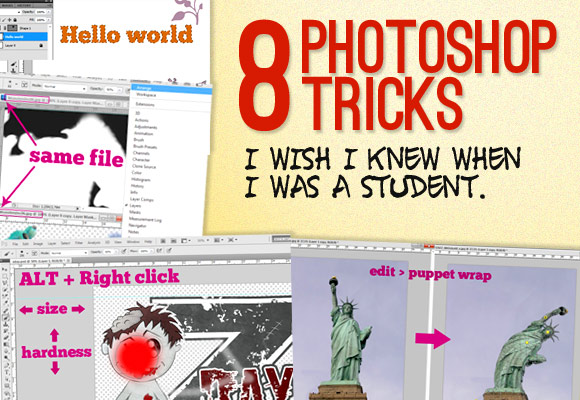 8 Photoshop Tricks I Wish I Knew When I Was a Student