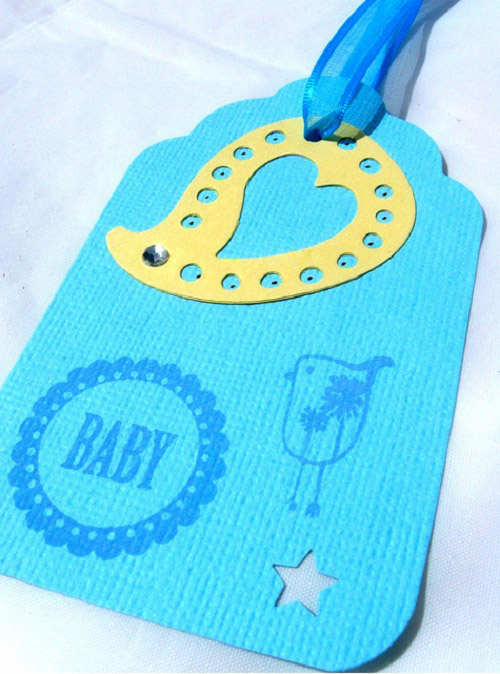 Baby Shower Gift Tag or Party Favor Tag
