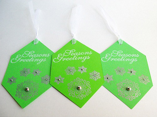 Seasons Greetings Tags