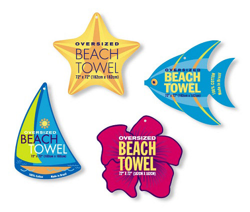 Beach Towel Hang Tags