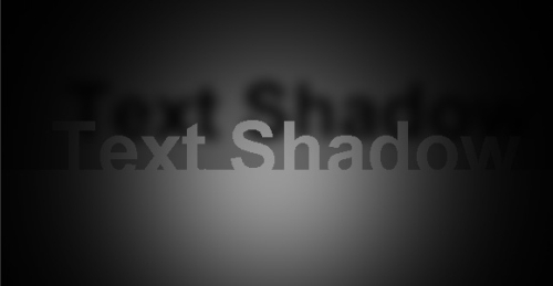 Text Shadow Box