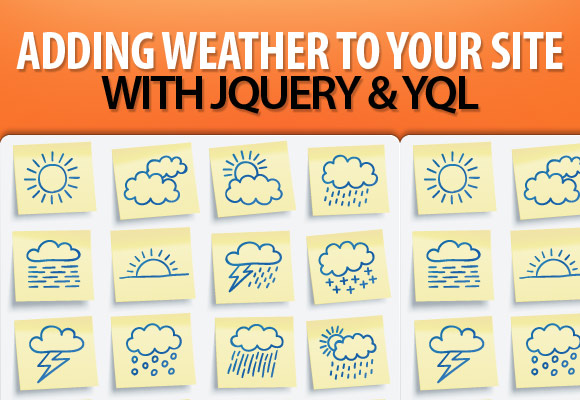 Adding Weather to Your Site with jQuery and YQL