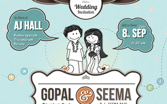 Gopal Raju Wedding Invite
