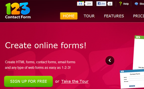Professional Web Based Form Builder: 5 Yearly Platinum Licenses Giveaway