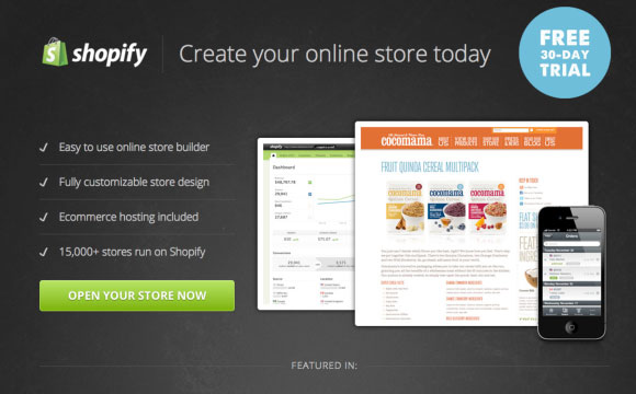 Shopify Online Store Giveaway: 1 Year Unlimited Plan
