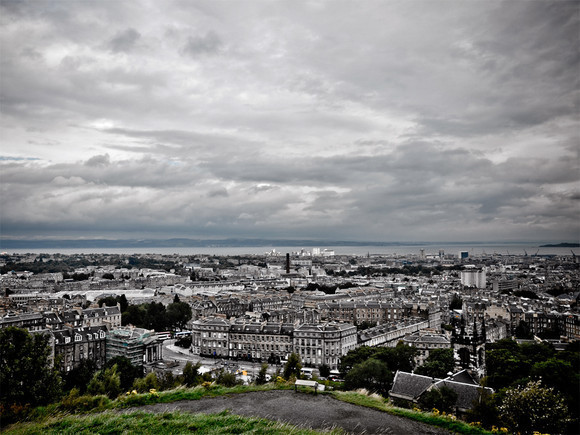 Cloudy Edinburgh