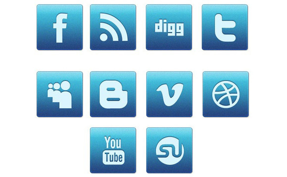 Blue Magic An Awesome Free Social Media Icon Set