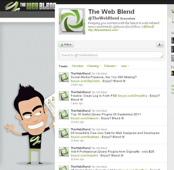 The Web Blend