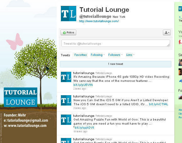 Tutorial Lounge