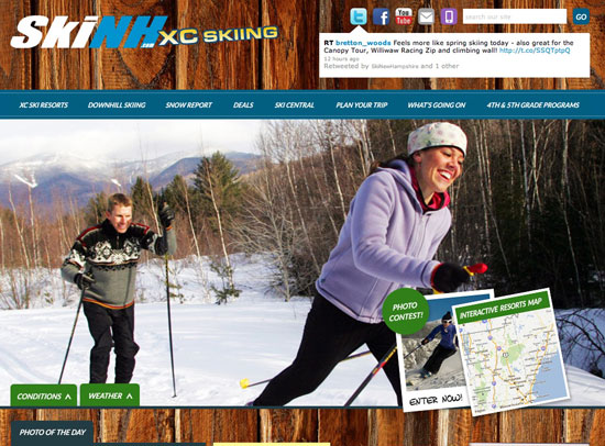 Ski NH XC Skiing