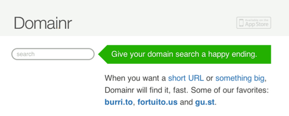 Identify potential domain hacks