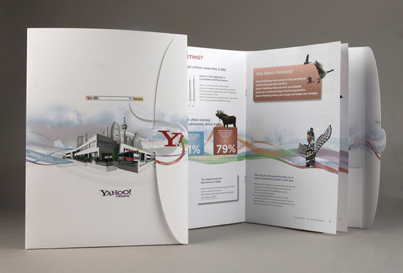 Unique And Beautiful Examples Of Brochure Design