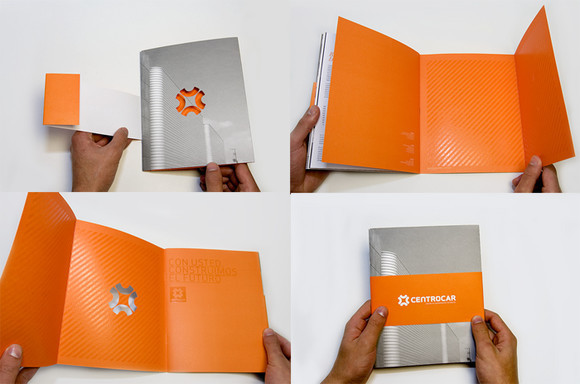 Centrocar Brochure Design