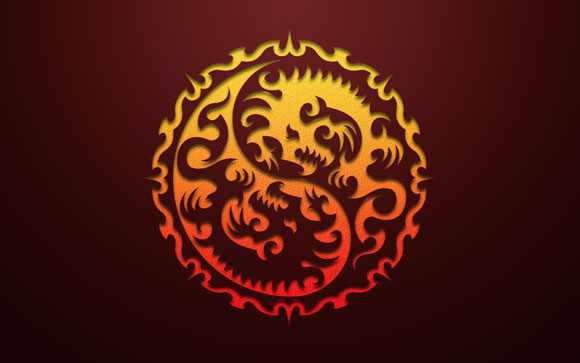 Year of the Dragon 2012 Red
