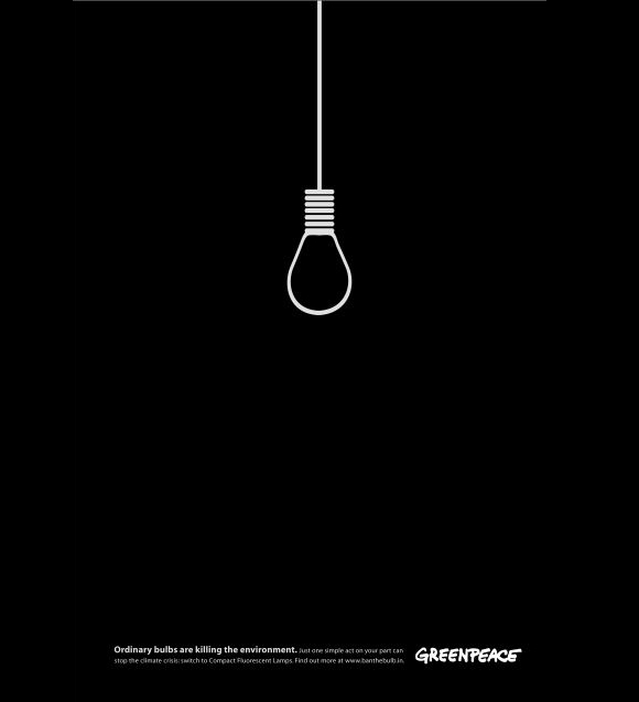 Greenpeace: Ordinary Bulbs are Killing the Environment