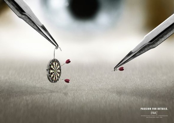 Darts: Passion for details