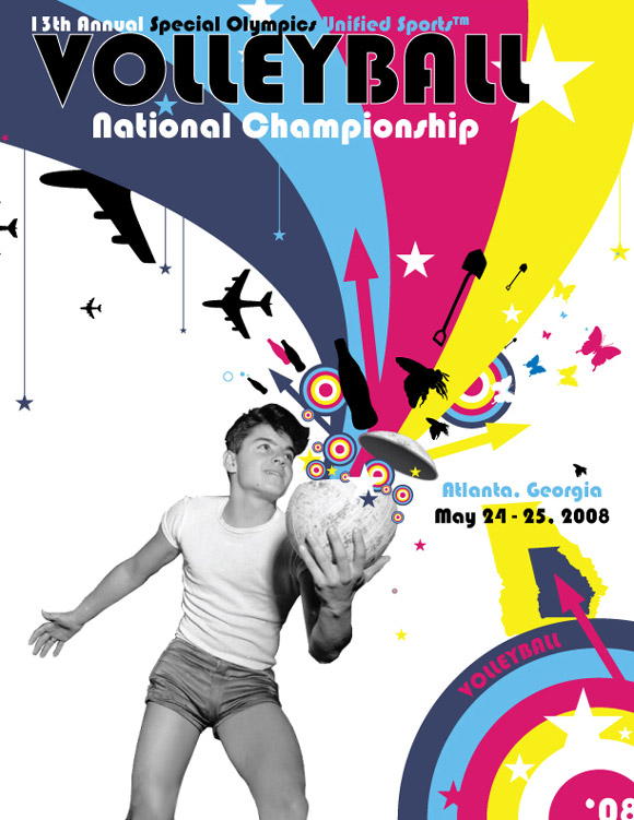 2008 Volleyball Poster