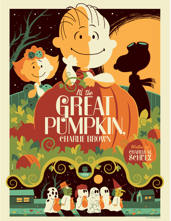 Peanuts: great pumpkin