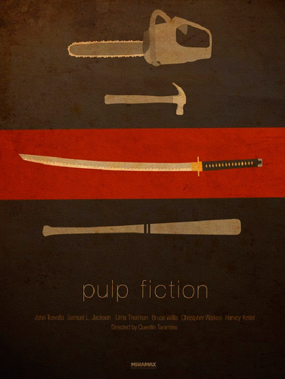 Tarantino Movie Series Posters