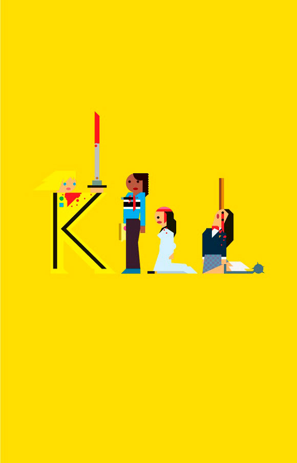 Geometric Kill Bill Posters