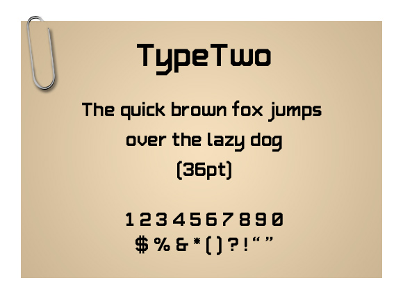 TypeTwo
