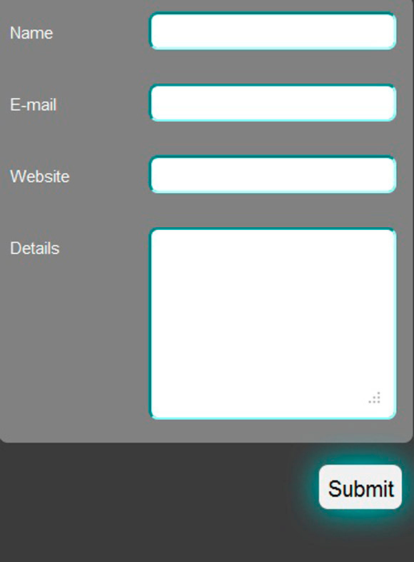 Create a Neon Blink Effect for your Forms