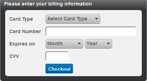 jQuery Credit Card Validation Plug-in