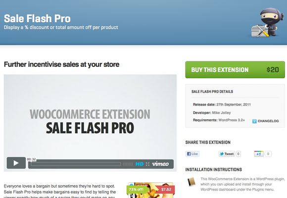 Sale Flash Pro