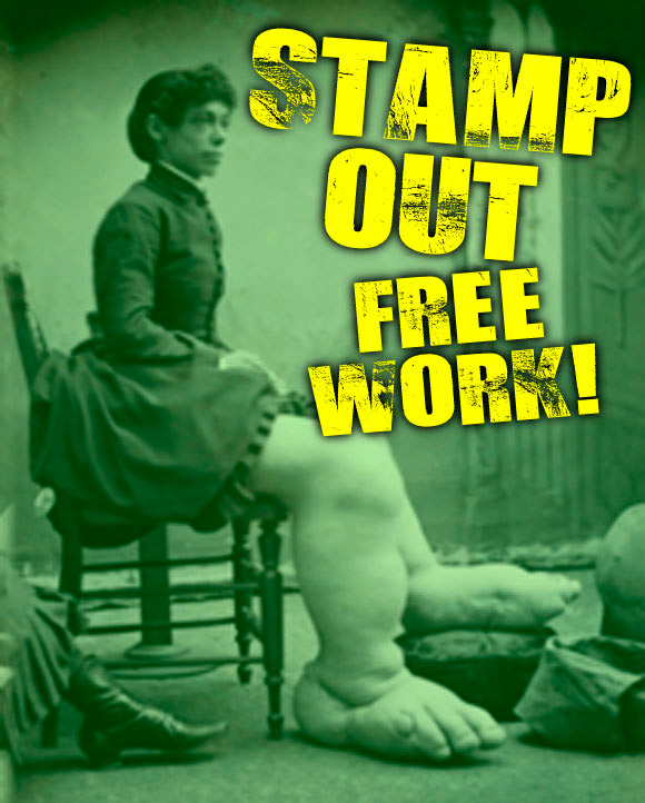Stamp Out Free Work