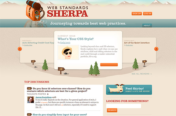 Web Standards Sherpa