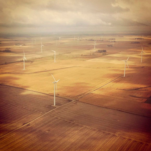 Wind Farm in Iowa
