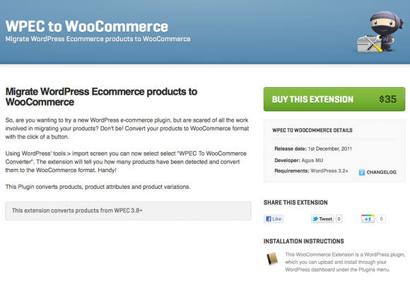 WPEC to WooCommerce