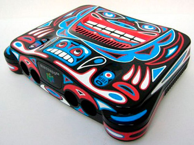 Tribal Painted NES
