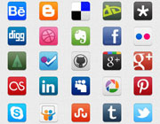 Freebies: Social Icons Pack for Designers and Developers