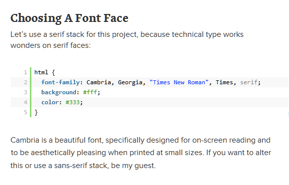 Smashing Magazine's Guide to Technical Web Typography