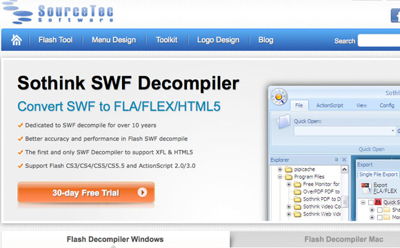 Sothink SWF Decompiler Giveaway: Get a Free License for Mac or Windows