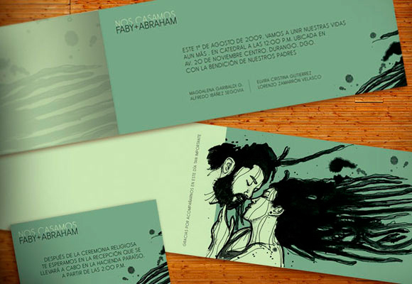 Wedding Invitation - Fabiland Fabiola Ibanez