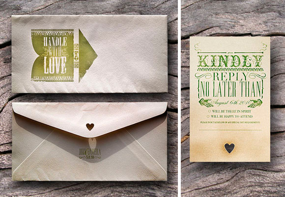 Wedding Invitation - John Thomas