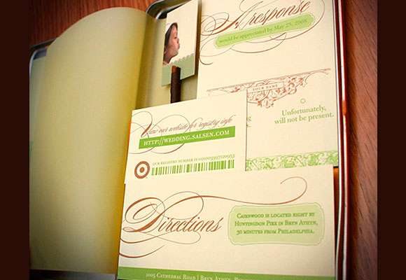 Wedding Invitation Set - Philatype