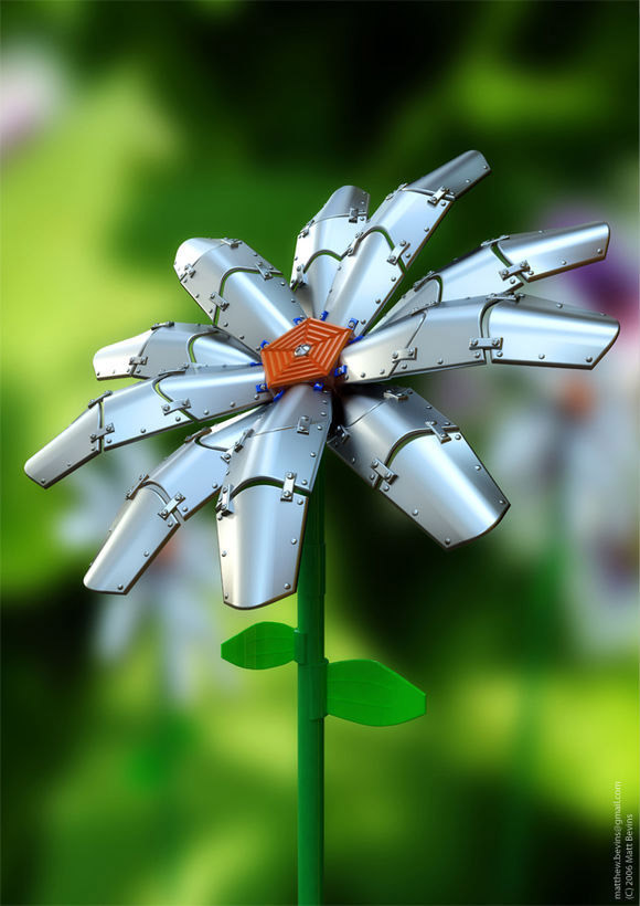 Mechanical Flower