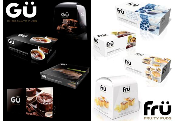 Gu Chocolate Puds and Fru Fruity Puds