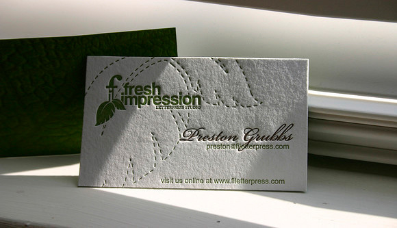 Fresh Impression Card