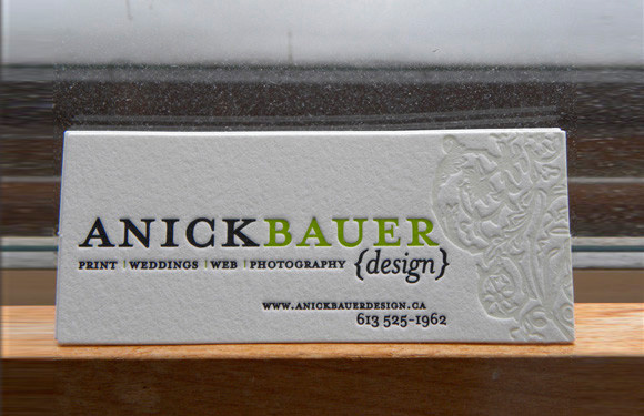 50 awesome letterpress designs for your inspiration anick bauer reheart Image collections