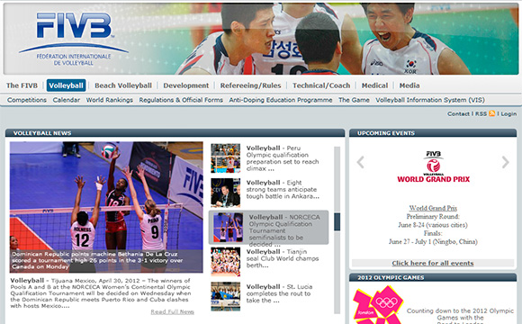 Beautiful Sports Websites