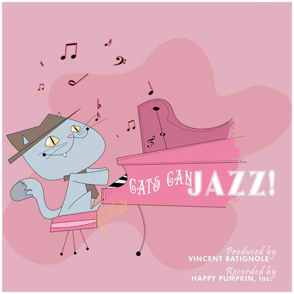 Cats can jazz...piano