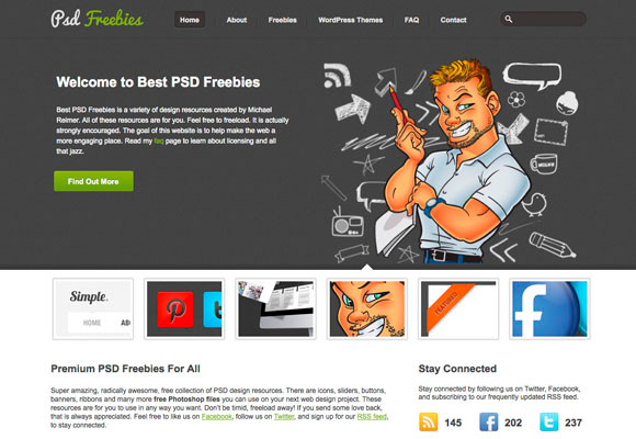 Best Psd Freebies