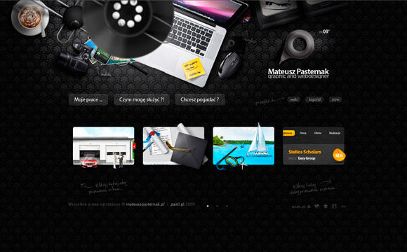 Inspirational Examples of Eye Catching Website Design
